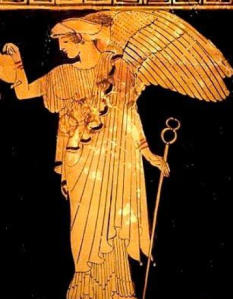 IRIS, GREEK, GODDESS OF THE RAINBOW, MESSENGER OF THE GODS