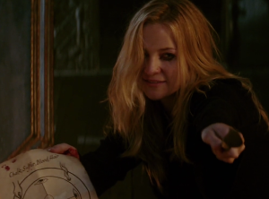 FOR A BRIEF MOMENT CAROLINE THINKS SHE HAS WON. IN REALITY SHE HAS DONE EXACTLY WHAT VIOLET AND LUKE NEEDED.
