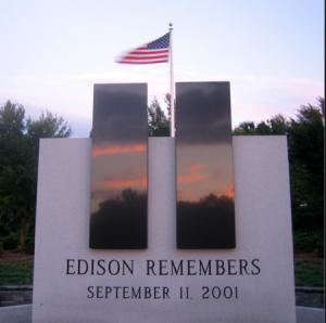 EDISON COUNTY 9/11 MEMORIAL - THE TRUTH IN A SYMBOL