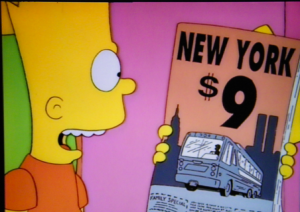 HOMER VS NEW YORK