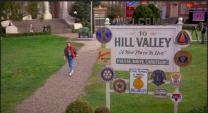 WELCOME TO HILL VALLEY, OR THE HILL AND VALLEY OF A SINE WAVE